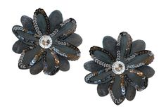 Flower Hair Clips - Perfect for Piggy Tails for Little Girls  #Hair_Bows