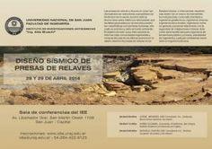 Dictarán un Curso Internacional sobre Diseño Sísmico de Presas de Relaves #UNSJ