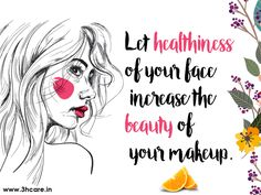 Do we spend even half of the time on our health as compared to the time being spent on our make up? #3hcare cares for your health.Book Well woman Health package now because shining healthy face needs a good health. Be#Meresponsible #health #healthy #healthtips #healthcare #healthcaretips #onlinehealthcare #onlinehealthtips #care #cure #fitness #yoga #meditation #healthylife #healthyliving #healthpackages #medicaltest #medicalcheckups