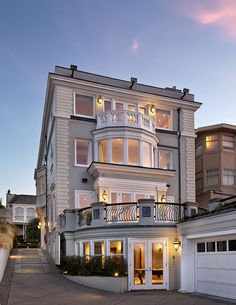 San Francisco Home With Golden Gate Views, if I lived in San Fran I'd definitely live here