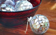 Rock n' roll with this cool homemade Christmas ornament. The Shattered CD Ornament is a fast and easy craft with a glamorous look. This recycled craft for kids will sparkle and shine on your Christmas tree.