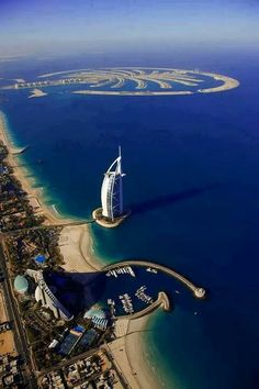 Palm Island, Dubai, United Arab Emirates, Days 86 & 87