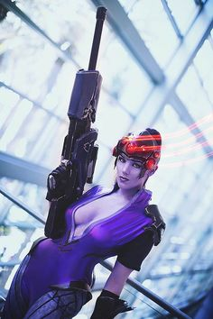Sniper from Overwatch #videogame Blizzcon 2014  www.comicaddictz.com Check out the hottest comic website out there !!