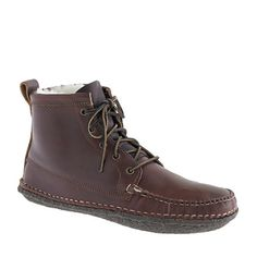 Men's Quoddy® for J.Crew shearling boots