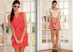 Vestidos modernos y sencillos de moda 2013