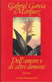 Venerdi' del libro: Dell'amore e di altri demoni