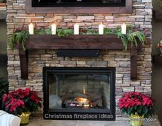 Decorating your fireplace mantel adds a quality to the room. Of course, there are easy and creative themes to decorate your fireplace. The right time is during Christmas to decorate your fireplace. Christmas is the time that many of us get into planning Christmas fireplace dec...