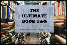 I saw Aimee @ Deadly Darlings do The Ultimate Book Tag and share her fabulousness for all the internet to see. Tags, Books, Libros, Book, Book Illustrations, Mailing Labels, Libri