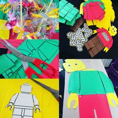 Lego party craft ideas! Festa tema Lego by www.babyeventimilano.con
