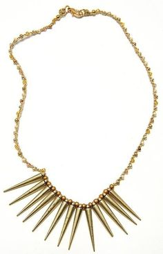 Add some spikiness to your favorite LBD! :)