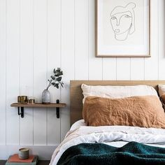 Living in a clean, serene, white interior is a dream for many. Make the all-white look work for you with our five-step guide Scandi Bedroom, Bedroom Vintage, Room Decor Bedroom, Home Bedroom, Modern Bedroom, Bedroom Furniture, Bedroom Ideas, Bedroom Rustic, Bedroom Apartment