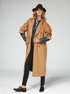 Max Mara cappotto cammello