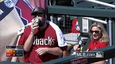 Josh Collmenter uses Trevor Cahill's arms in bizarre Spring Training interview. See the full video here!
