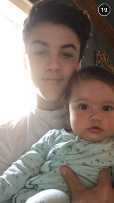 That baby is so adorable! So is Ethan but I say that I love him too much. I do. I love him to bits. See I said it again. God dammit Nevinka.