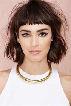 Hairstyles with very short bangs ⋆ Gorgeous