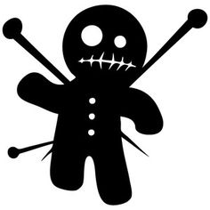 Voodoo Doll Cool Design Funny Humor TShirt All Colors Sizes DollsColoring PagesEvil