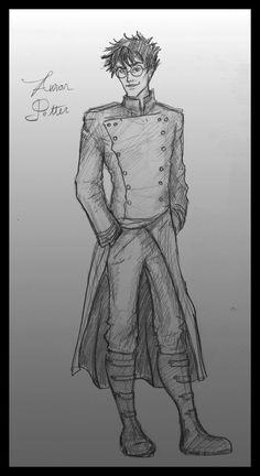 Auror Potter by ~Hillary-CW on deviantART