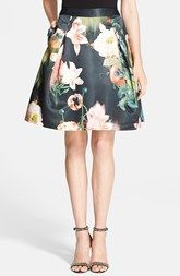Ted Baker London 'Opulent Bloom' Skirt