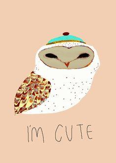 I'M CUTE  by Ashley Percival Illustrator