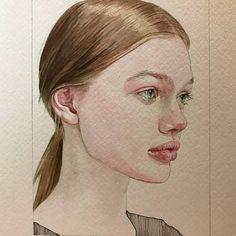 Картинки по запросу reina yamada watercolor