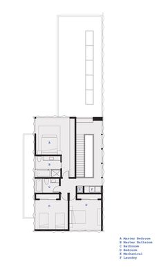 Walnut Residence,Floor Plan