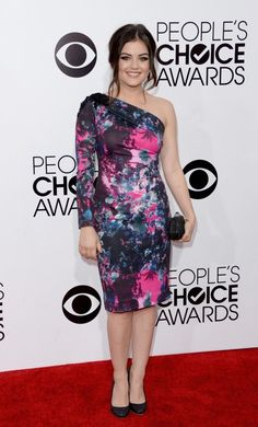 Lucy Hale is cosmic in Gabriela Cadena - People's Choice Awards 2014
