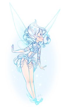 Periwinkle's Haute Couture design by DoodleLust