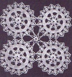 Vintage Crochet PATTERN for Bedspread 6023 Circle by BlondiesSpot