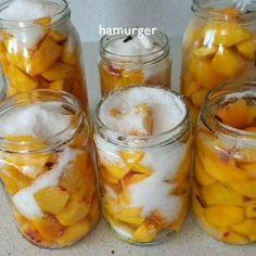 Cantaloupe, Cucumber, Mason Jars, Peach, Pudding, Fruit, Instagram, Desserts, Food