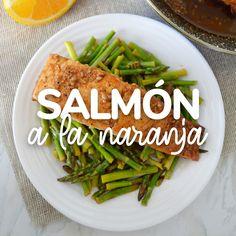 Healthy Salmon Recipes, Fish Recipes, Seafood Recipes, Mexican Food Recipes, Healthy Snacks, Vegetarian Recipes, Chicken Recipes, Healthy Eating, Cooking Recipes