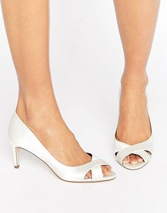Get this Asos's heeled shoe now! Click for more details. Worldwide shipping. ASOS SAGE Bridal Mid Heels - Cream: Heels by ASOS Collection, Satin upper, Slip-on style, Peep toe, Mid heel, Wipe with a damp cloth, 100% Textile Upper, Heel height: 7cm/3. Score a wardrobe win no matter the dress code with our ASOS Collection own-label collection. From polished prom to the after party, our London-based design team scour the globe to nail your new-season fashion goals with need-right-now dresses…