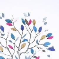 Rinjani Organdy Fabric - Winter