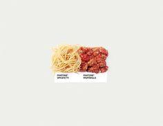 Cibo #Pantone #food