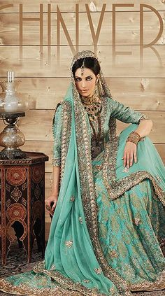 Latest Beautiful Walima Dresses Collection for Wedding Bridals 2015-16 (9)