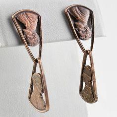 Abe Cornerred Custom Earrings by Stacey Lee Webber