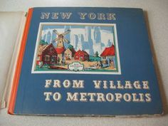 1939 Book New York From Village To Metropolis  by ShopWithLynne for $7.00