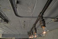 Track Lighting Industrial Ceiling Light by WestNinthVintage