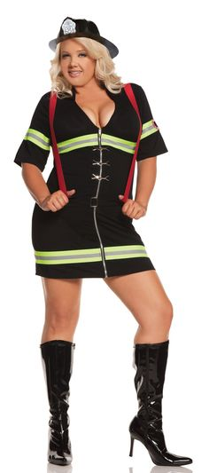 Firefighter plus costume size