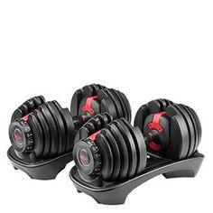 SelectTech 552 Adjustable Dumbbells | Bowflex Best Adjustable Dumbbells, Adjustable Dumbbell Set, Adjustable Weights, Pilates Studio, Pilates Reformer, Bowflex Dumbbells, Kettlebells, Quiet Workout, Shopping