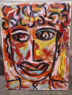 """""""A FACE IN THE CROWD"""" By Royston du Maurier-Lebek 2015"""