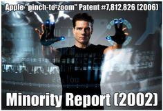 Pinch to Zoom - Spielberg to sue Apple as it was his idea :D