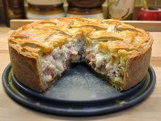 Recipe: Babbo Finzi's Pizzagaina (Pizza Rustica) – Easter Recipes Dinner Pizza Rustica, Italian Meats, Italian Dishes, Italian Recipes, Italian Meat Pie Recipe, Italian Table, Italian Cooking, Holiday Pies, Holiday Recipes