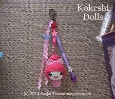Free crochet patterns ~ Amigurumi crochet patterns ~ K and J Dolls / K and J Publishing