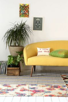 Layla Sofa + my kind of pillow