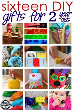 16 homemade gifts for 2 year olds. Olive