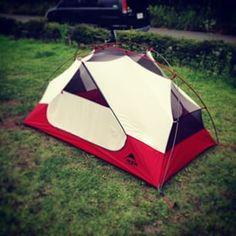 昨日初張りデイしてきたYO!  天井のメッシュが気に入ったYO!  早く泊りで使いたいYO!  #MSR #エリクサー2 #エリクサー #襟臭 #デイキャンプ #キャンプ #CAMP