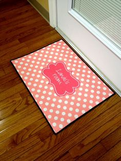 Door Mat, Personalized  / Monogrammed Door Mat on Etsy, $60.00