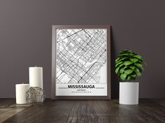 Excited to share the latest addition to my #etsy shop: Mississauga map print, Minimalistic wall art poster, Ontario gifts, Birthday Gift, For father, Father Black And White Wall Art, Black And White Posters, Artwork Prints, Poster Prints, Art Posters, Bathroom Artwork, Westminster Map, City Map Poster, Map Wall Art