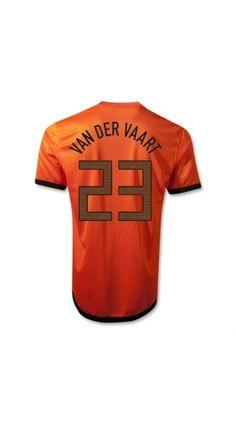 05603b9b0 Wholesale new Euro 2012 12 13 Netherlands Van Der Vaart 23 Home Soccer  Jerseys