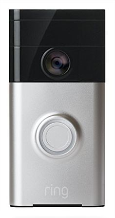 The Ring Video Doorbell is the world's first battery-operated, Wi-Fi enabled, HD video doorbell. The device enables homeowners to see and speak with visitors from anywhere in the world by streaming live audio and video of a home's front doorstep directly to the free iOS or Android app. The doorbell's built-in motion sensors detect movement up to 9m and HD video recording stores all recorded footage to the cloud which can be accessed via the Ring app. The Ring Doorbell is quick and easy to…